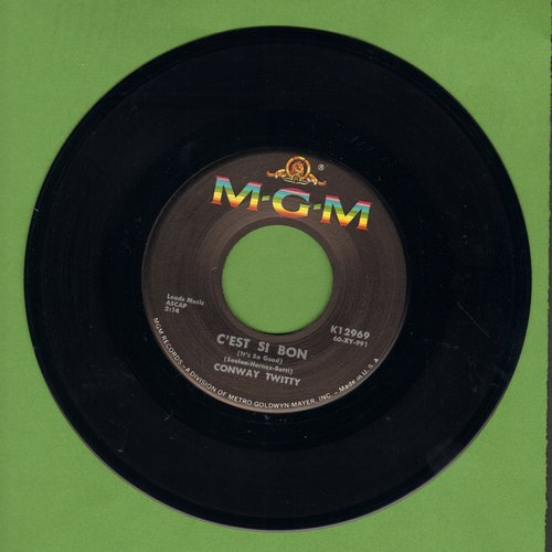 Twitty, Conway - C'est Si Bon (It's So Good)/Don't You Dare Let Me Down (MINT condition!) - NM9/ - 45 rpm Records