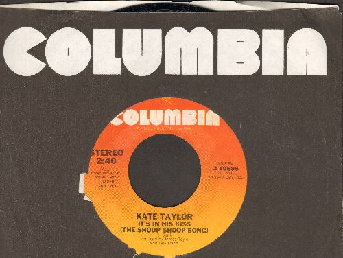 Taylor, Kate - It's In His Kiss (The Shoop Shoop Song)/Jason And Ida (with Columbia company sleeve) - NM9/ - 45 rpm Records