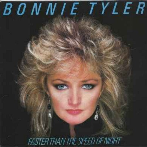 Tyler, Bonnie - Faster Than The Speed Of Night: Total Eclypse Of The Heart, Have You Ever Seen The Rain?, Straight From The Heart, It's A Jungle Out There (vinyl LP record) - NM9/EX8 - LP Records