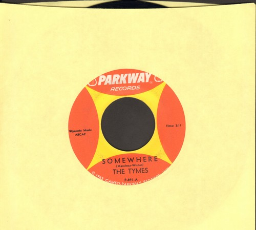 Tymes - Somewhere/View From My Window  - EX8/ - 45 rpm Records