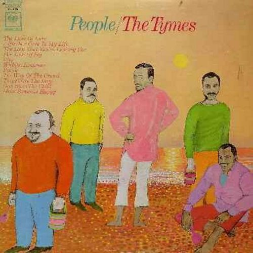 Tymes - People: The Look Of Love, Alfie/For Once In My Life, For Love Of Ivy, Those Were The Days, Make Someone Happy, God Bless The Child (vinyl STEREO LP record) - M10/EX8 - LP Records
