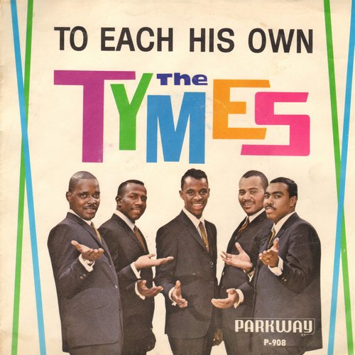 Tymes - To Each His Own/Wonderland Of Love (with picture sleeve) - NM9/EX8 - 45 rpm Records