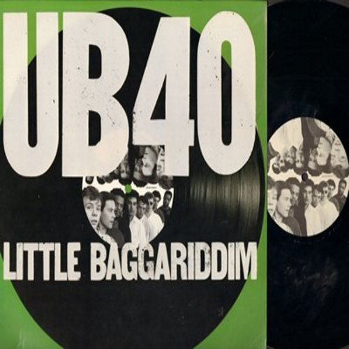 UB40 - Little Baggariddim: I Got You Babe, Don't Break My Heart, Hip Hop Lyrical Robot, One In Ten (vinyl LP record) - M10/NM9 - LP Records