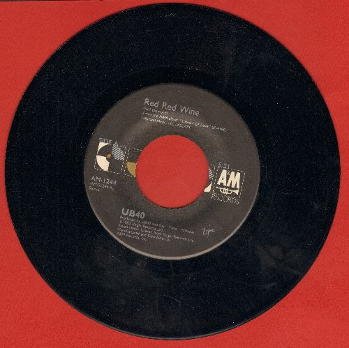 UB40 - Red Red Wine (PARTY FAVORITE!)/Sufferin'  - NM9/ - 45 rpm Records