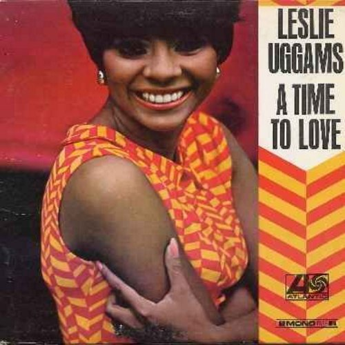 Uggams, Leslie - A Time To Love:  My Friends Could See Me Now, We Can Work It Out, Inka Dinka Doo, A Lover's Concerto, How Sweet It Is To Be Loved By You, I Hear A Symphony (vinyl MONO LP record, DJ advance copy) - NM9/EX8 - LP Records
