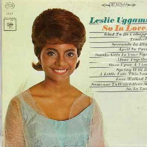 Uggams, Leslie - So In Love!: Glad To Be Unhappy, Smoke Gets In Your Eyes, Once Upon A Time, Spring Will Be A Little Late This Year (vinyl STEREO LP record) - NM9/EX8 - LP Records