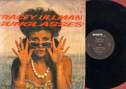 Ullman, Tracey - Alone (Why Must I Be Alone)/Sunglasses/Candy (12 inch vinyl Maxi Single with picture cover, Britihs Pressing) - NM9/NM9 - LP Records