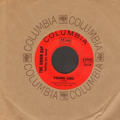 Union Gap - Young Girl/I'm Losing You (with Columbia company sleeve) - NM9/ - 45 rpm Records