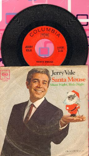 Vale, Jerry - Santa Mouse/Silent Night, Holy Night (with picture sleeve) - NM9/VG6 - 45 rpm Records
