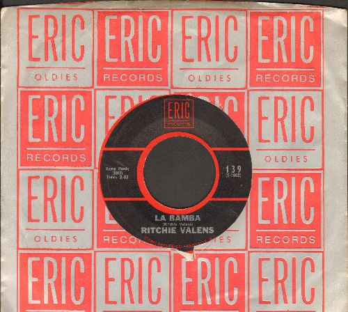 Valens, Ritchie - La Bamba/Donna (re-issue with Eric company sleeve) - VG7/ - 45 rpm Records
