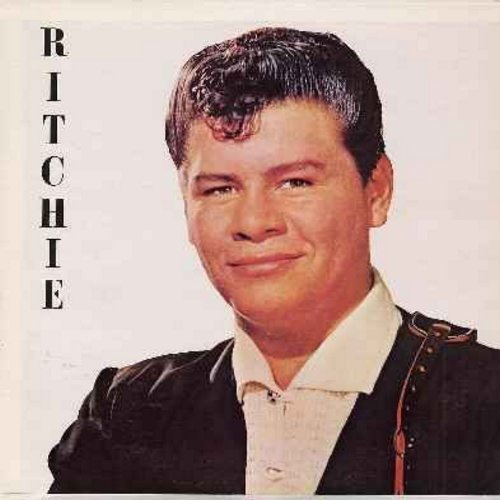 Valens, Ritchie - Ritchie: Hurry Up, Rockin' All Night, Stay Beside Me, Cry Cry Cry, Paddi-Wack Song, Little Girl, Now You're Gone, Big Baby Blues, My Darling Is Gone, Fast Freight, Ritchie's Blues (vinyl MONO LP record, re-issue of vintage recordings) -