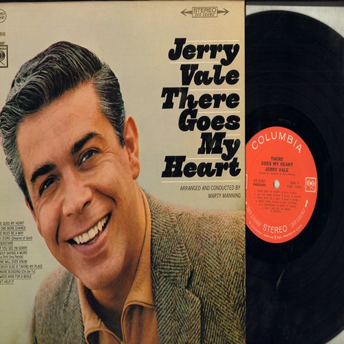 Vale, Jerry - There Goes My Heart: I Understand, I Can't Help It, Just One More Chance (vinyl STEREO LP record) - NM9/NM9 - LP Records