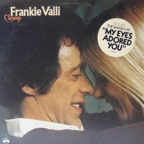 Valli, Frankie - Closeup: My Eyes Adored You, Why, I Can't Live A Dream (vinyl STEREO LP record, DJ advance pressing) - NM9/EX8 - LP Records