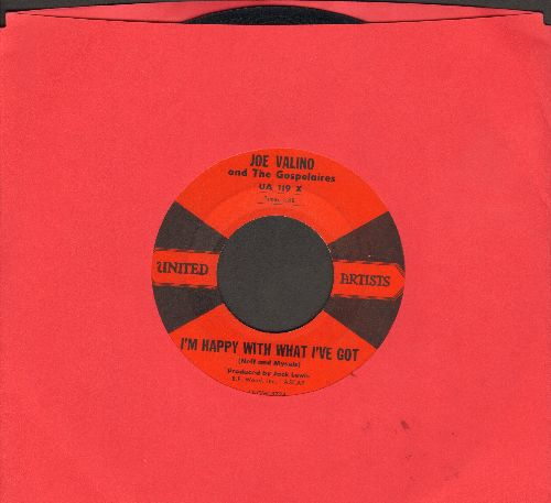 Valino, Joe - God's Little Acre/I'm Happy With What I've Got - VG7/ - 45 rpm Records