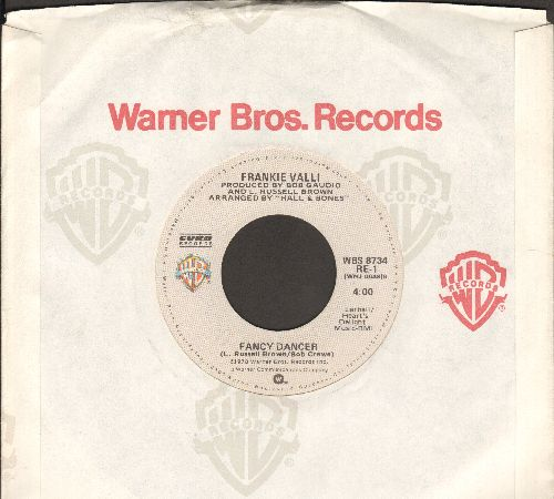 Valli, Frankie - Fancy Dancer/Needing You - M10/ - 45 rpm Records