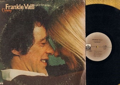 Valli, Frankie - Closeup: My Eyes Adored You, Why, I Can't Live A Dream (vinyl STEREO LP record) - VG7/NM9 - LP Records