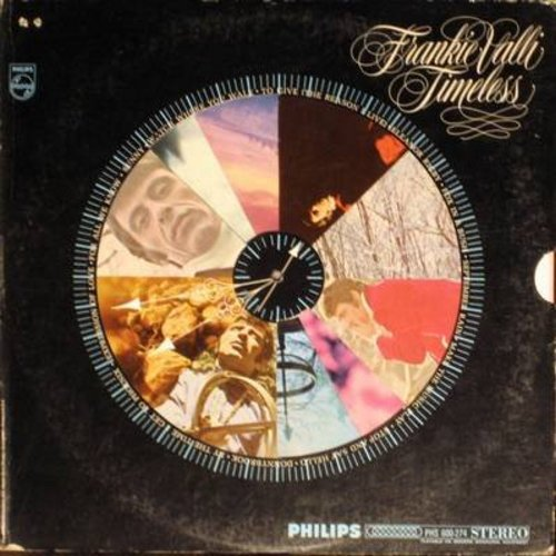 Valli, Frankie - Timeless: Sunny, Eleanor Rigby, September Rain, For All We Know, By The Time I Get To Phoenix (vinyl STEREO LP record, gate-fold cover) - NM9/VG7 - LP Records