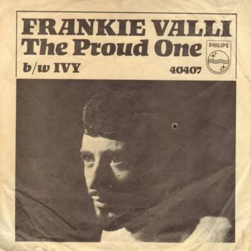 Valli, Frankie - The Proud One/Ivy (with picture sleeve) (bb) - NM9/VG7 - 45 rpm Records