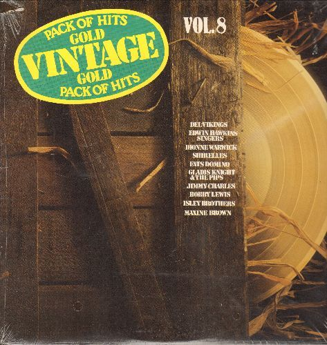 Dell Vikings - Vintage Gold Vol. 8: Come Go With Me, Mama Said, Blueberry Hill, Twist And Shout, Oh Happy Day (vinyl LP record, re-issue of vintage recordings, SEALED, never opened!) - SEALED/SEALED - LP Records