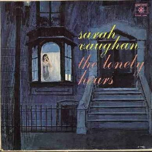 Vaughan, Sarah - The Lonely Hours: If I Had You, Freindless, Always On My Mind, The Man I Love, You're Driving Me Crazy (vinyl MONO LP record) - NM9/VG7 - LP Records