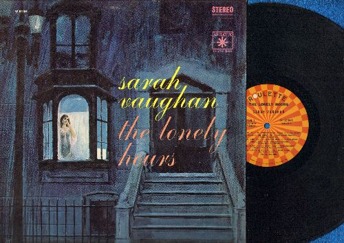 Vaughan, Sarah - The Lonely Hours: If I Had You, Freindless, Always On My Mind, The Man I Love, You're Driving Me Crazy (vinyl STEREO LP record) - EX8/VG7 - LP Records
