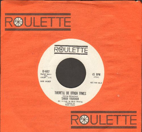 Vaughan, Sarah - Call Me Irresponsible/There'll Be Other Times (DJ advance pressing with Roulette company sleeve) - NM9/ - 45 rpm Records