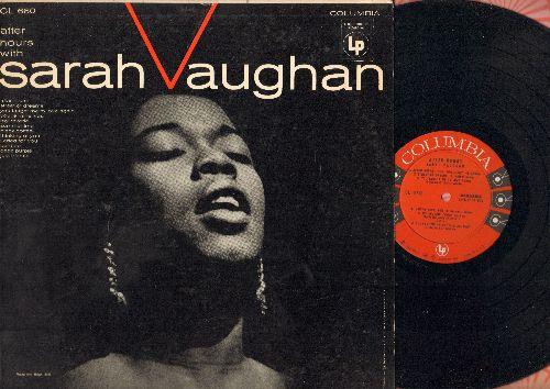 Vaughan, Sarah - After Hours: Street Of Dreams, Summertime, My Reverie, Black Coffee, Deep Purple (vinyl MONO LP record) - EX8/VG6 - LP Records