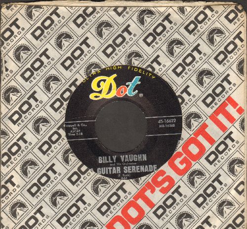 Vaughn, Billy - A Guitar Serenade/Chianti Song (with Dot company sleeve) - NM9/ - 45 rpm Records