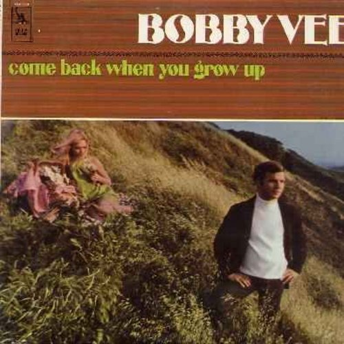 Vee, Bobby - Come Back When You Grow Up: A Rose Grew In The Ashes, You're A Big Girl Now, Objects Of Gold, Hold On To Him (vinyl LP record) - NM9/EX8 - LP Records