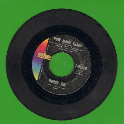 Vee, Bobby - Baby Face/How Many Tears  - VG6/ - 45 rpm Records