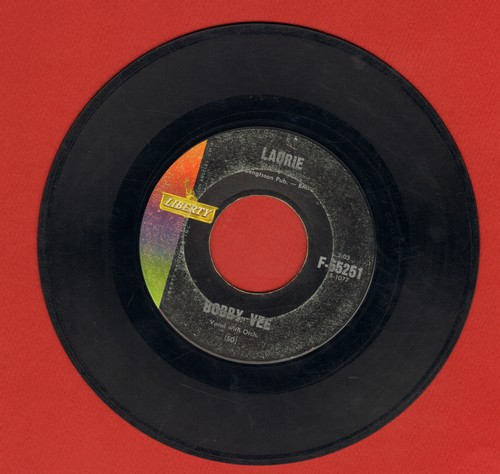 Vee, Bobby - Laurie/One Last Kiss  - VG7/ - 45 rpm Records