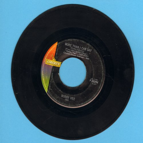 Vee, Bobby - More Than I Can Say/Stayin' In  - EX8/ - 45 rpm Records