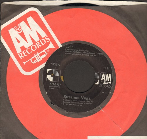 Vega, Suzanne - Luka (song dealing with the issue of child abuse)/Night Vision - EX8/ - 45 rpm Records