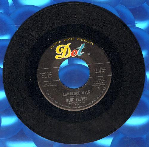 Welk, Lawrence - Blue Velvet/Fiesta - NM9/ - 45 rpm Records
