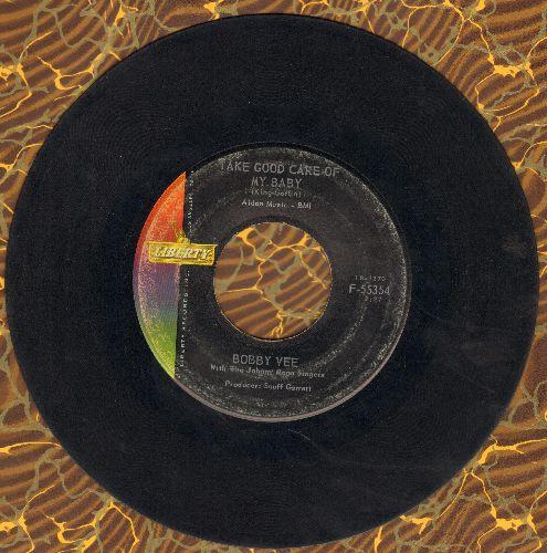 Vee, Bobby - Take Good Care Of My Baby/Bashful Bob  - VG7/ - 45 rpm Records