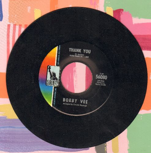 Vee, Bobby - Thank You/(I'm Into Lookin' For) Someone To Love - NM9/ - 45 rpm Records