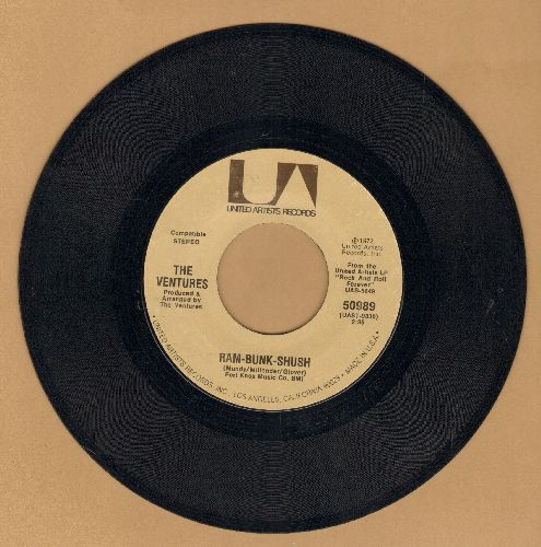 Ventures - Ram-Bunk-Shush/Last Night - NM9/ - 45 rpm Records