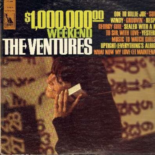 Ventures - $1,000,000.00 Weekend: Windy, Groovin', Respect, Georgy Girl, Music To Watch Girls By, Uptight (Everything Is Alright), Yesterday (vinyl STEREO LP record) - NM9/EX8 - LP Records