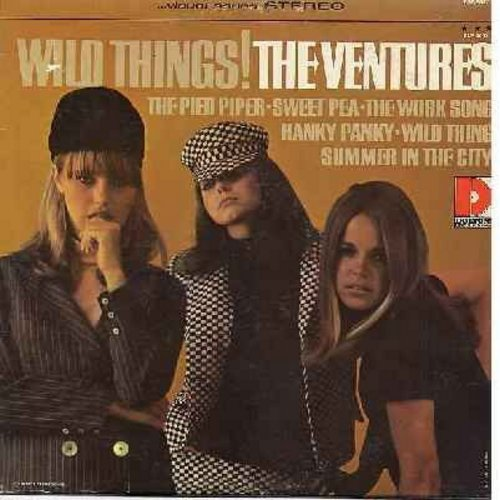 Ventures - Wild Things!: Hanky Panky, The Pied Piper, Summer In The City, Sweet Pea (vinyl STEREO LP record) - NM9/EX8 - LP Records