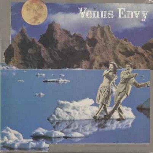 Venus Envy - Space Rock '85/Vapor Walk/Private Dick (12 inch vinyl 45rpm maxi single -- New Wave Instrumental, Original 1985 Release) - M10/EX8 - Maxi Singles