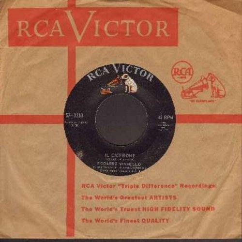 Vianello, Edoardo - Il Cicerone/Abbronza Tissima (Canadian Pressing, sung in Italian, with vintage RCA company sleeve) - EX8/ - 45 rpm Records