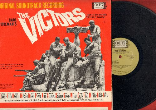 Sinatra, Frank - The Victors: Movie Sound Track featuring Have Yourself A Merry Little Christmas (vinyl MONO LP record) - NM9/VG7 - LP Records