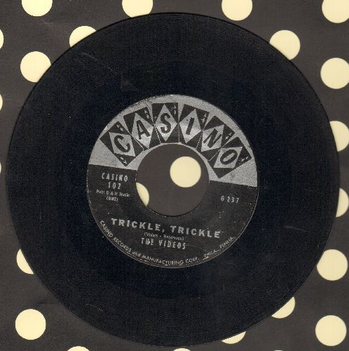 Videos - Trickle, Trickle/Moonglow You Know (label belmish on flip-side) - VG7/ - 45 rpm Records