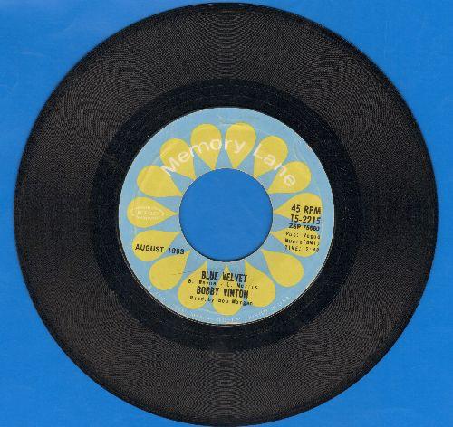 Vinton, Bobby - Blue Velvet/Blue On Blue (double-hit re-issue) - EX8/ - 45 rpm Records