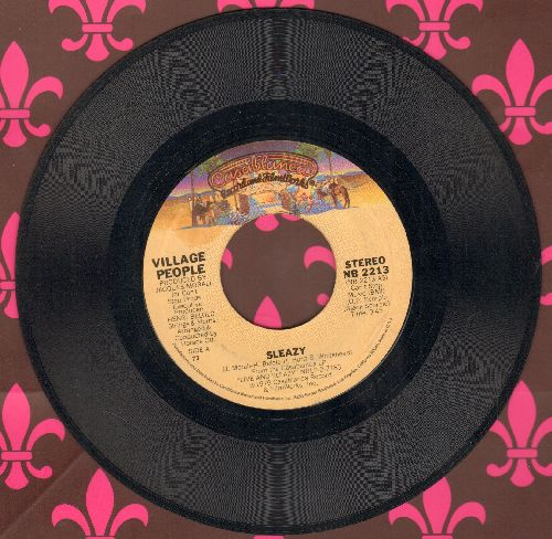 Village People - Sleazy/Save Me (Up Tempo) - EX8/ - 45 rpm Records