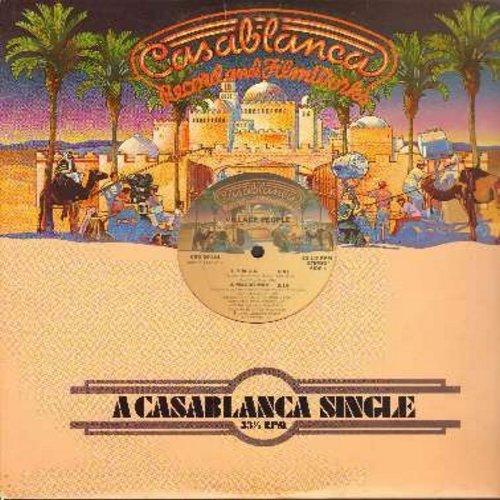 Village People - Y.M.C.A. (6:47 minutes Dance Club Version)/Macho Man (5:18 minutes Dance Club Version) (SPECIAL one-sided vinyl MAXI Single) - NM9/ - Maxi Singles