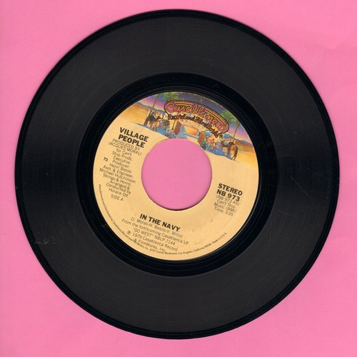 Village People - In The Navy/Manhattan Woman - VG7/ - 45 rpm Records