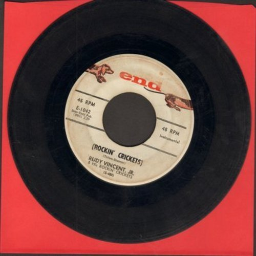 Vincent, Rudy Jr. & His Rockin' Crickets - Rockin' Crickets/Five Points - G5/ - 45 rpm Records