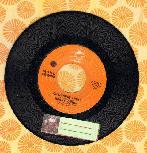 Vinton, Bobby - Christmas Angel/Christmas Eve In My Home Town (sol) - NM9/ - 45 rpm Records