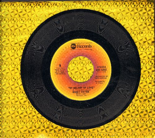 Vinton, Bobby - My Melody Of Love/I'll Be Loving You - EX8/ - 45 rpm Records